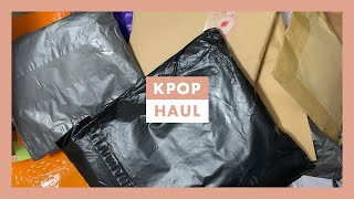 Huge KPOP Haul ☆ Unboxing NCT Merch + More ☆ 25+ Packages (Part 1)