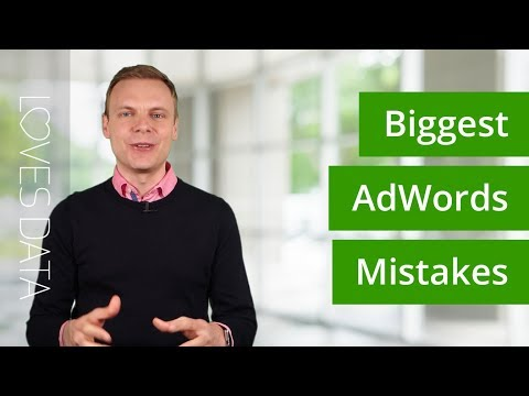 AdWords Mistakes – The 9 Biggest Mistakes You Need To Avoid