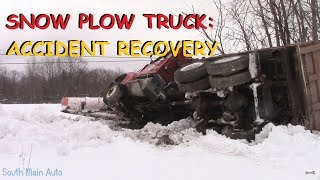 Snow Plow Truck Accident: Recovery & Tow