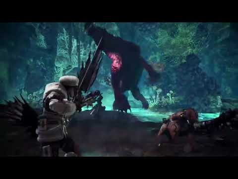 Monster Hunter World I Alloy - Horizon Zero Dawn Game Trailer I Action RPG I PS4, PC, XBone