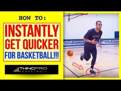 Download Youtube: How to - INSTANTLY GET QUICKER IN BASKETBALL! (Top 3 Basketball Quickness Drills At Home)