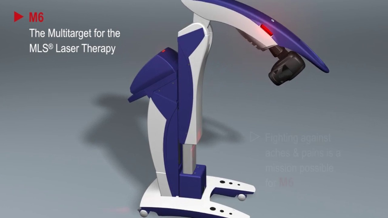 M6 Robotic Mls 174 Therapy Laser Youtube