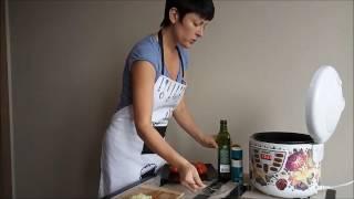 Тушеные баклажаны в мультиварке Scarlett SC-MC410S11 от Екатерины Гаврилиной