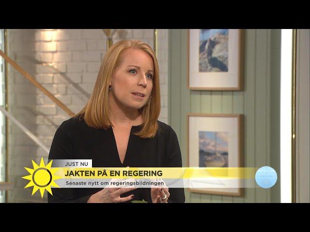 Annie Lööf: Osannolikt att vi ändrar uppfattning - Nyhetsmorgon (TV4)