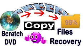 how to files recovery for scratch dvd