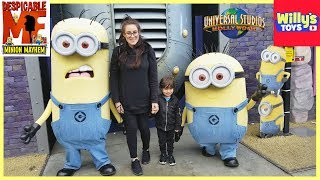 Despicable Me Minion Mayhem - Universal Studios Hollywood - Meet the Minons - Willy
