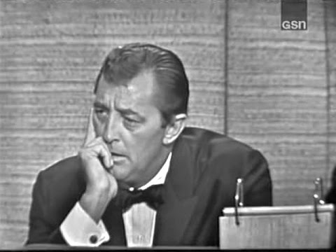 What's My Line?  Robert Mitchum; Congressman John Lindsay panel Mar 28, 1965