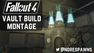 Fallout 4 Vault-Tec Workshop - Vault 88 Building Montage