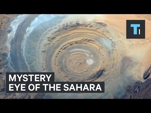 Mystery Eye of the Sahara
