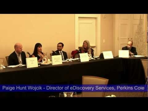 Paige Hunt Wojcik - Director of eDiscovery Services, Perkins Coie