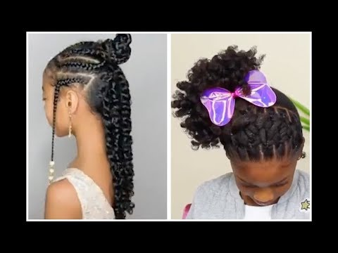 Natural Hair Kids Hairstyle Compilation - Puffs, Special Occasion & Every Day Hairstyles