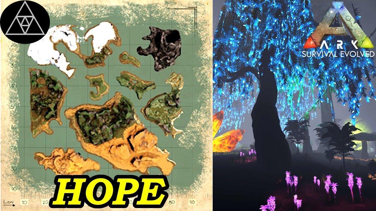 ARK: Survival Evolved Karten #014 ► Hope - ARK Map Spotlight! Inklusive  Aberration Unterwelt!