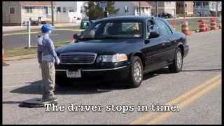 Street Smart NJ Stopping Distance Demonstration