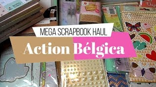 Compras Haul de Scrapbook | Action Bélgica | Yoltzin Handmade