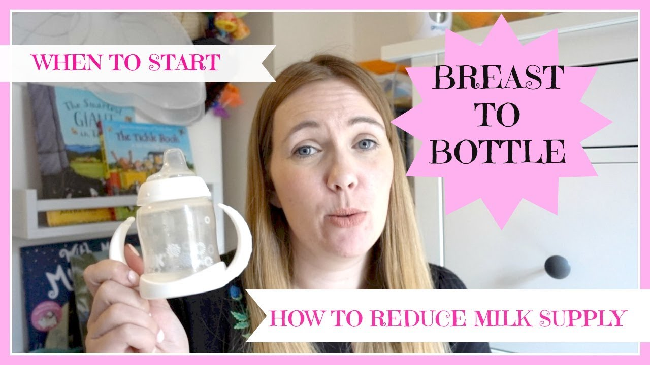 BREAST TO BOTTLE | WEANING FROM THE BREAST