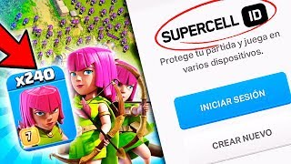 NACE EL SUPERCELL ID. No pierdas tu progreso | Clash of Clans