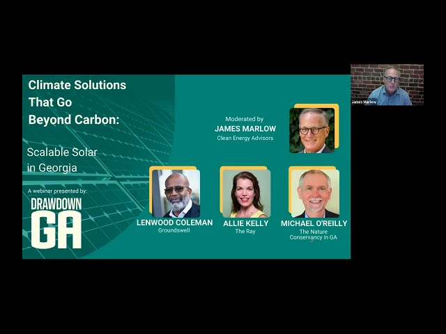 Climate Solutions That Go Beyond Carbon: Scalable Solar