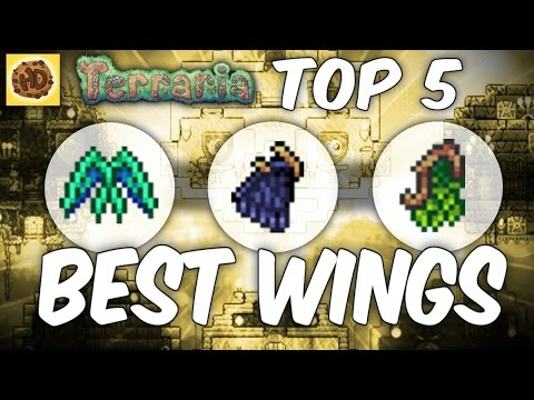Terraria Top 5 Wings | New Items 1.2
