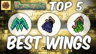 Terraria: Top 5 Wings (1.2.4.1 update)