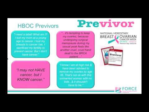 Hereditary Breast And Ovarian Cancer In Public Health Youtube