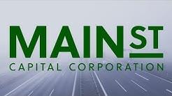 Stock Financial Analysis: Main Street Capital Corp (MAIN)