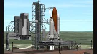 Shuttle Atlantis Launch Orbiter 2010 P1_ng...Real Sounds