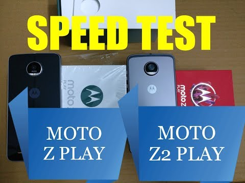 Moto Z2 Play vs Moto Z Play - Speed Comparison with Specifications