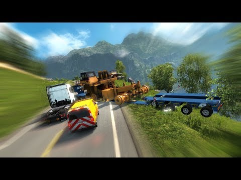 CHEAP TRUCK, HEAVY TRAILER - Special Transport DLC vs Scania
