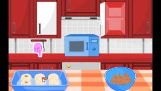 Cooking Games: Chocolate And Almond Macaroons