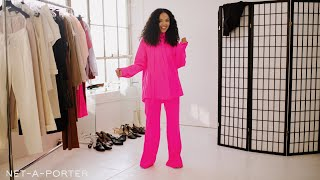 The High-Impact Fashion Challenge with Tessa Thompson | NET-A-PORTER