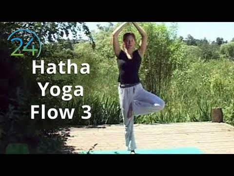 Yoga 42 min. full class ~ Hatha Yoga Flow 3