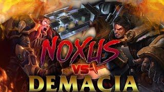 DEMACIA vs NOXUS | QUIEN GANA? | Directo temático