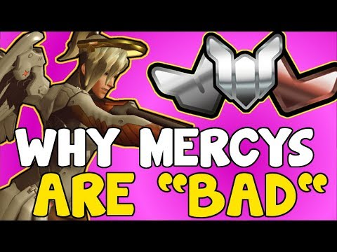 """Why MOST MERCY MAINS Are """"TRASH""""   Overwatch Competitive"""