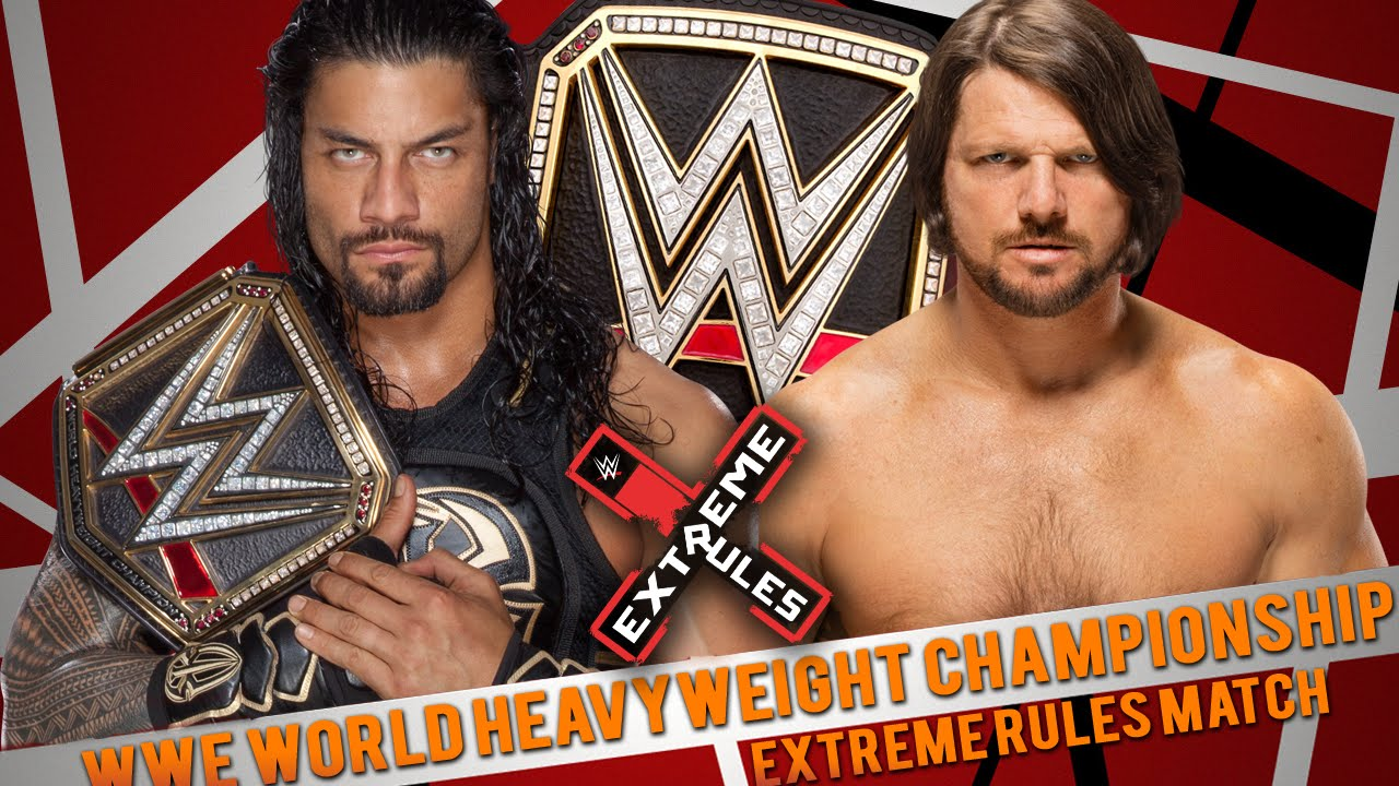 Image result for styles reigns extreme rules