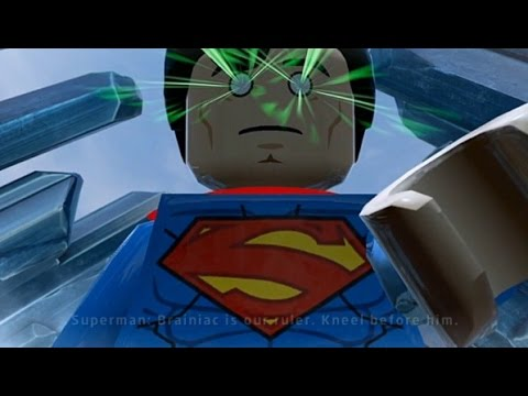 LEGO Batman 3: Beyond Gotham (Vita / 3DS) Walkthrough Chapter 15 - Fortress of Solitude