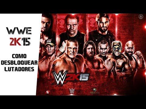 [WWE 2K15] Como Desbloquear lutadores/Unlock fighters!