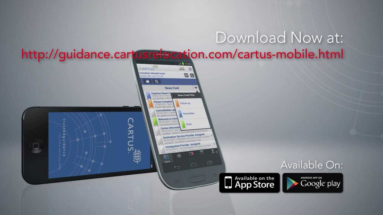 cartus online Cartus Smartphone Application | CartusMobile℠ for the Android and ...