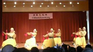Mongolian Chopstick Dance (1/4)