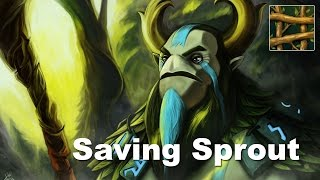 Furion Sprout Saves Good Base Race Dota 2