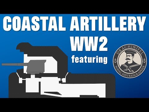 How effective was Coastal Artillery in WW2? (feat. Drachinifel)