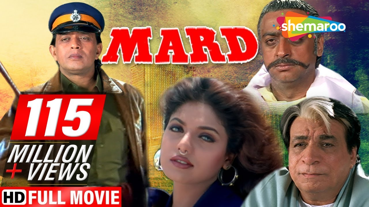 mard1998hd mithun chakraborty ravali johnny lever