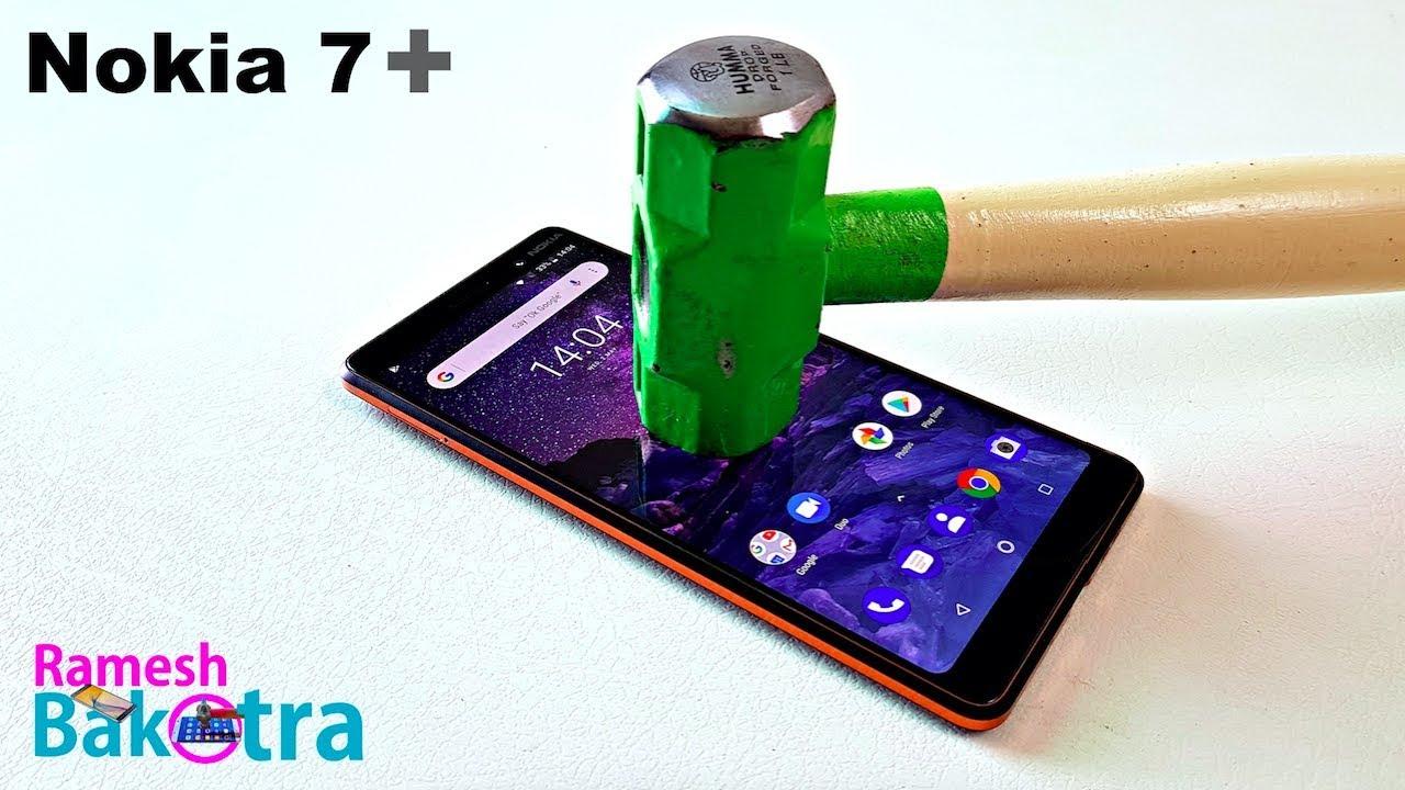 nokia 7 plus screen scratch test gorilla glass 3 youtube. Black Bedroom Furniture Sets. Home Design Ideas