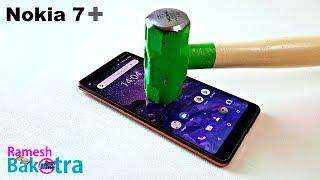 Nokia 7 Plus Screen Scratch Test Gorilla Glass 3