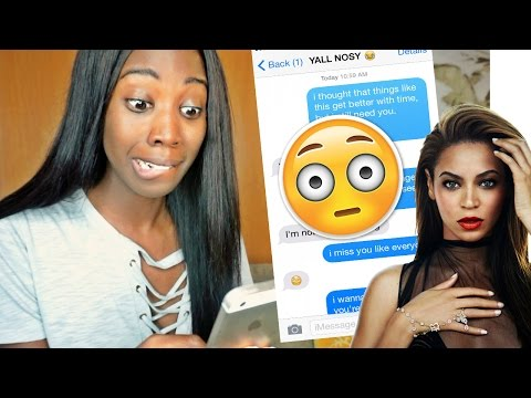 Song Lyric Text Prank On My EX! (I Miss You by Beyonce) | EPIC FAIL!