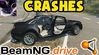 audi a8 crashes accidents 2 beamng drive