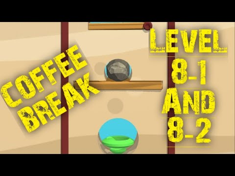 DIG IT Game Android Gameplay Coffee Break-Level 1 And 2 8-1 And 8-2 Completed