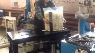 Подушкосжиматель(Пресс для сжатия подушек, одеял, матрасов и т.д. работает от сжатого воздуха. Конструкция нами же разработан..., 2015-11-03T18:06:54.000Z)