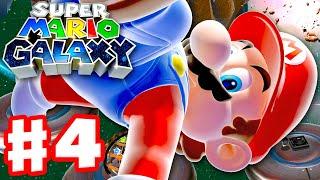 Super Mario Galaxy - Gameplay Walkthrough Part 4 - Battlerock Galaxy! (Super Mario 3D All Stars)