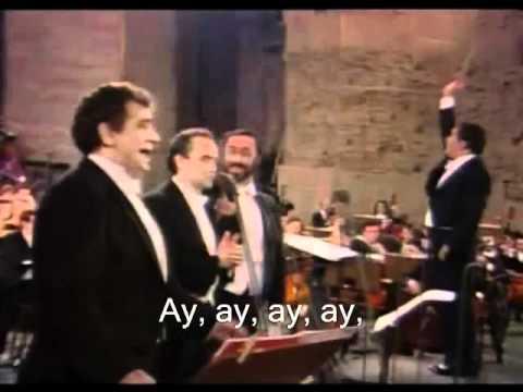 The Three Tenors - Cielito Lindo - 1990