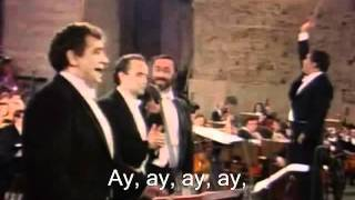 The Three Tenors - Cielito Lindo - 1990